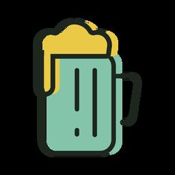 Cerveza de icono san patricio