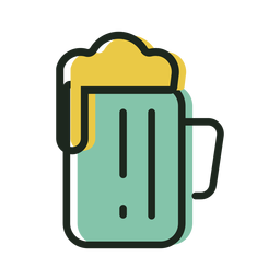 Cerveza icono st patrick