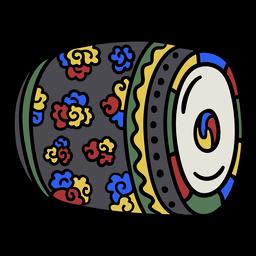 Tambores de colores coreanos