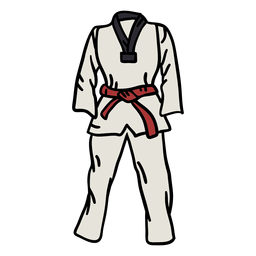 Korean taekwondo element