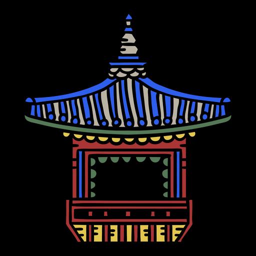 Korean terrace element