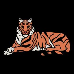 Elemento de tigre coreano