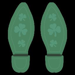 Bonitos pies de san patricio