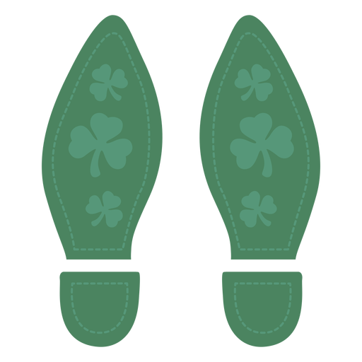 Bonitos pies de san patricio Transparent PNG