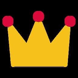 Coroa de corte de papel