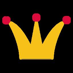 Coroa de elemento de corte de papel