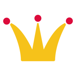 Paper cut element crown