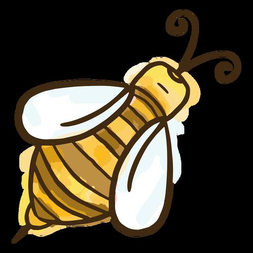 Miel de abeja simple Transparent PNG