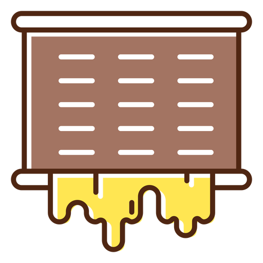 Spilling honey element Transparent PNG