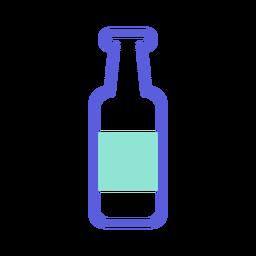Icono de color de botella de san patricio
