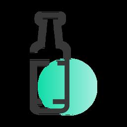 Icono de botella de san patricio