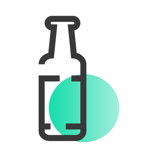 St patrick bottle icon