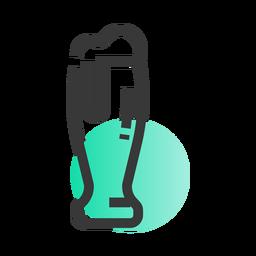 St patrick glass icon