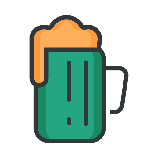 St patrick icon beer