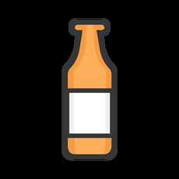 Botella de icono de San Patricio