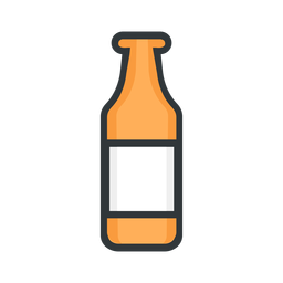 St patrick icon bottle