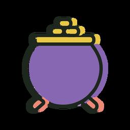 St patrick pot cool icon