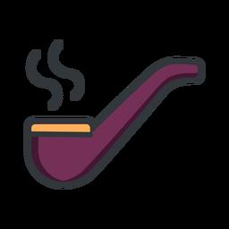 St patrick smoke pipe stroke icon