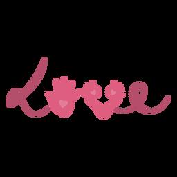 San Valentín trailprint love