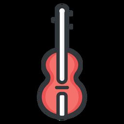 Ícone de traço de violino