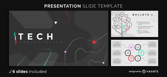 Dark Tech Presentation Template