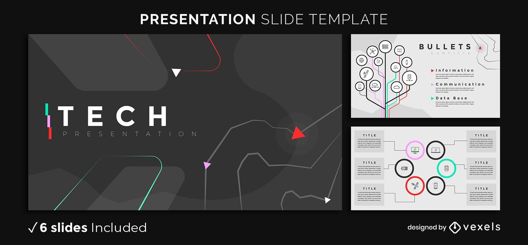 Dark Tech Presentation Template