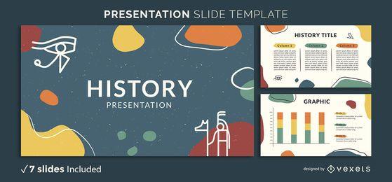 Modelo de apresentação da história