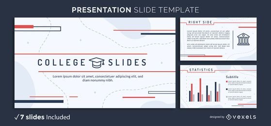 College Study Presentation Template