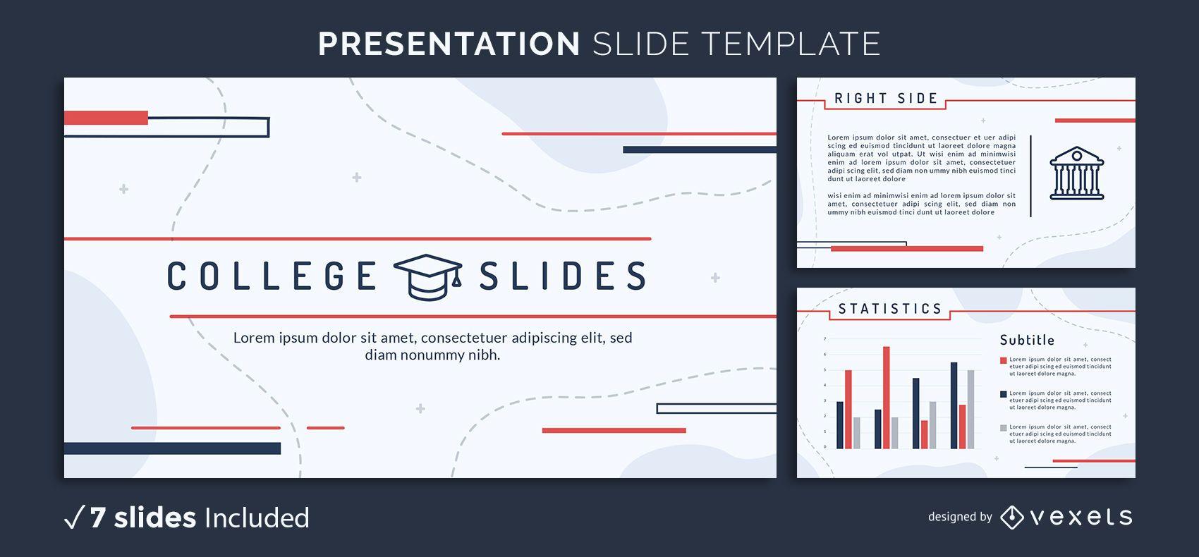 College Study Presentation Template