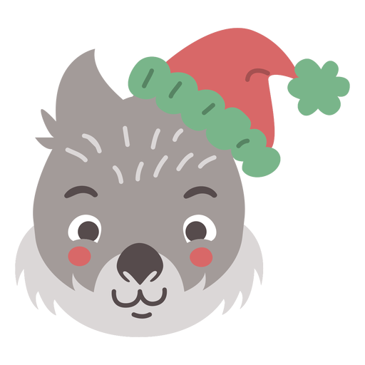 Adorable cabeza de wombat australiano