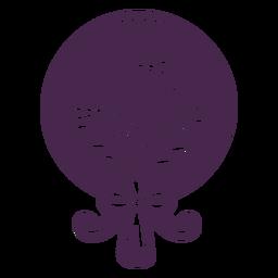 Assorted vinyl bouquet design