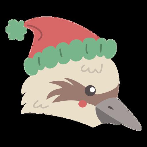 Australian hawk flat design