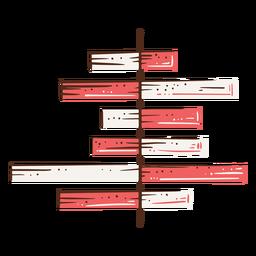 Ilustración de diagrama de barras