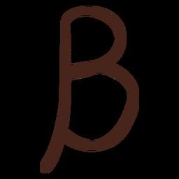 Alfabeto beta letra griega
