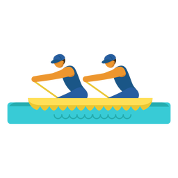 Canoe paralympic pictogram