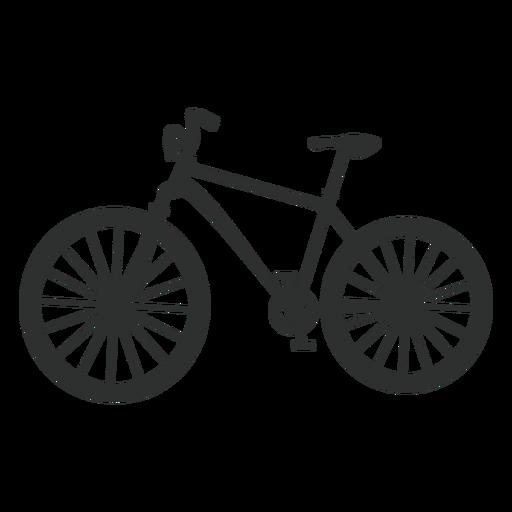 Classic man bike Transparent PNG