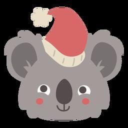 Linda cabeza de koala australiana