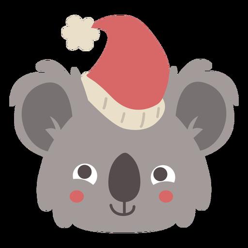 Cute australian koala head