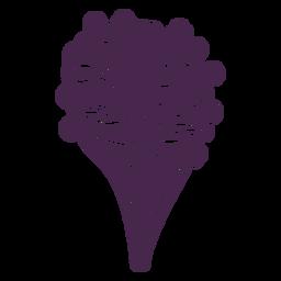 Delicate arranged bouquet vinyl