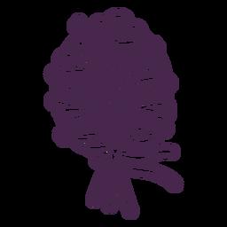 Delicate bouquet vinyl