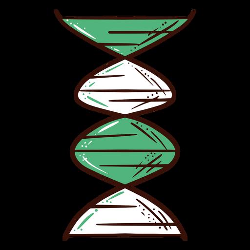 Ilustración del diagrama de ADN