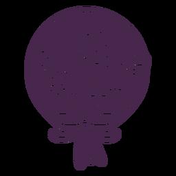 Design de vinil de bouquet floral requintado