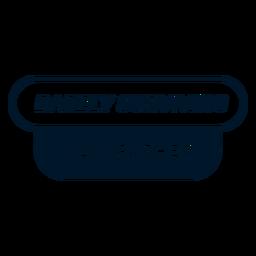 Vatertag kaum Schriftzug Design überlebt