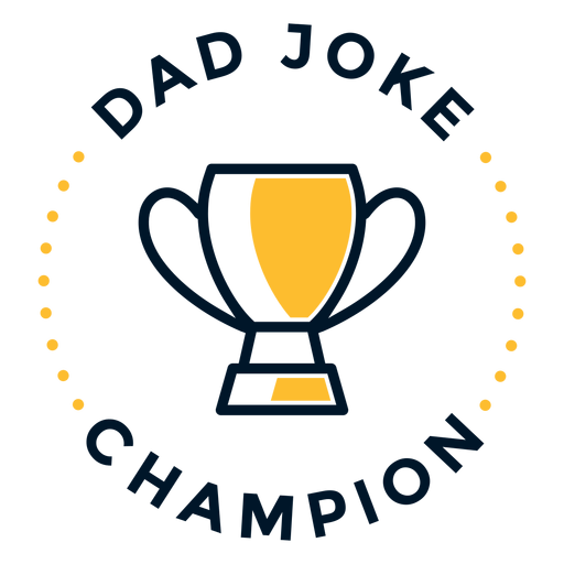 Father's day dad joke lettering