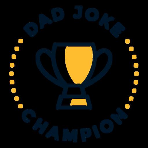 Letras de broma de papá del día del padre Transparent PNG