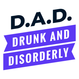 Father's day acronym design