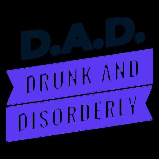 Diseño de acrónimo del día del padre