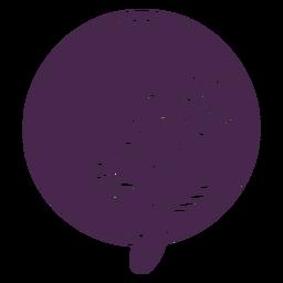 Vinil de bouquet pontilhado