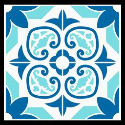 Grained pattern tile design