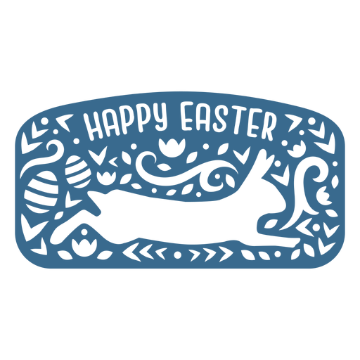 Happy easter bunny vinyl
